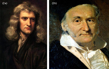 Isaac Newton established first the rules of Gaussian elimination as they are still presented in current high school textbooks