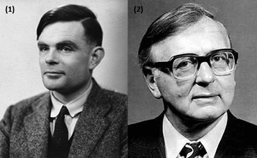 (1) Alan Turing (1912-1954) and (2) James Wilkinson (1919-1986)