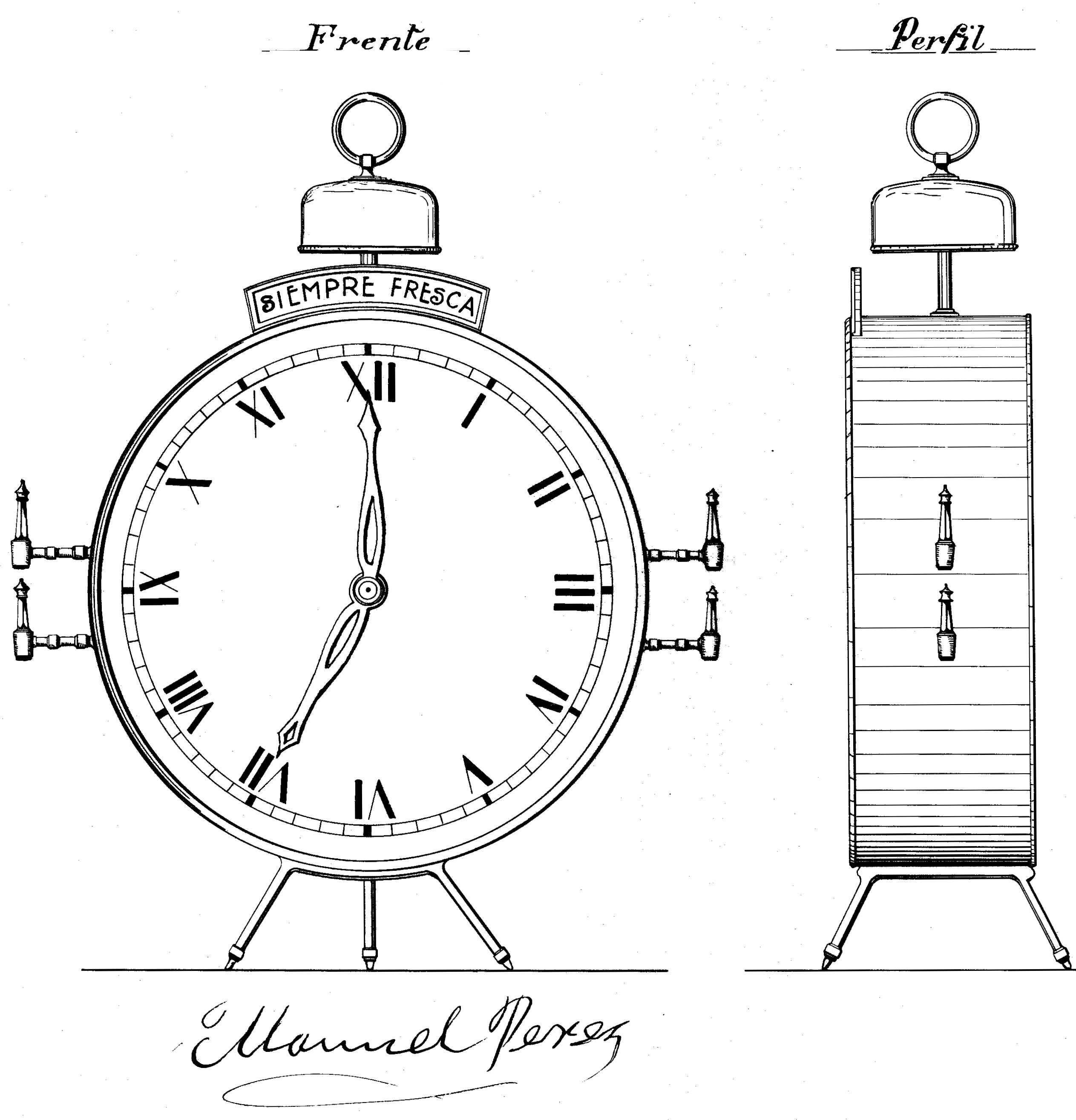 Calendarios, relojes y un cajero automático. Cinco patentes en la ...