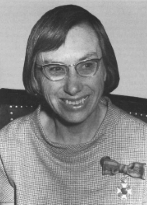 Carolina Henriette MacGillavry, who became a professor at the University of Amsterdam in 1957.