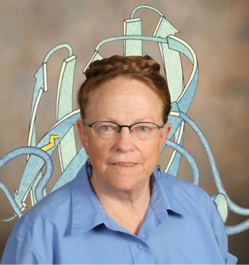 Jane S. Richardson, the American biophysicist who developed the Richardson diagram, or ribbon diagram, a method of representing the 3D structure of proteins.