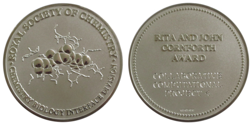 Rita and Cornforth Award Medal for CCP4
