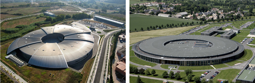 Examples of recent 3 Generation storage-rings: Left: ALBA (Barcelona). Right: SOLEIL (Paris)