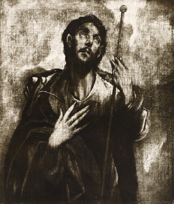 <em>El Greco</em>. San Roque. Hispanic Society, Nueva York