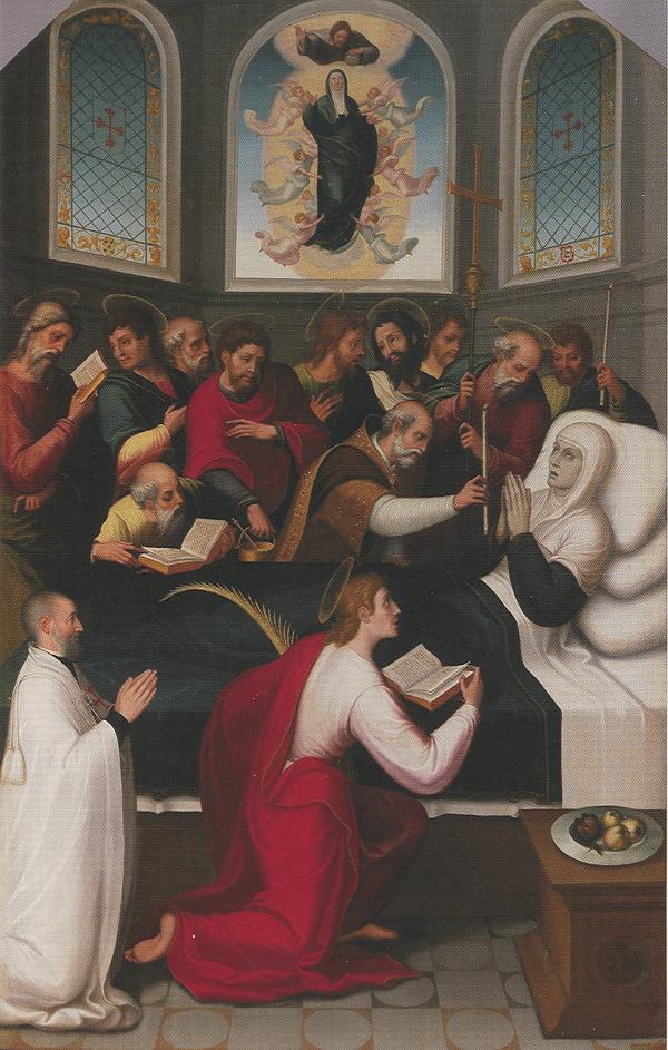 Juan Correa de Vivar. <em>Tránsito de la Virgen</em>. Museo del Prado, Madrid.