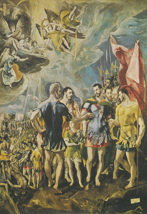 El Greco. <em>El Expolio</em>. Museo del Prado, Madrid.