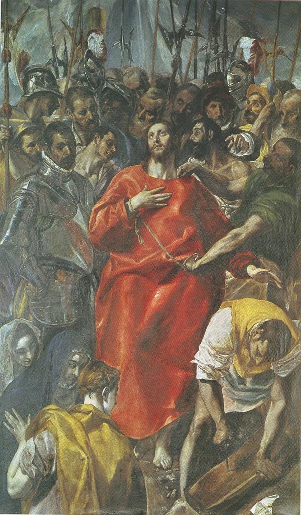El Greco. <em>El Expolio</em>. Catedral, sacristía, Toledo.
