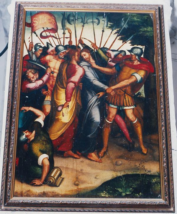 Juan Correa de Vivar. El Prendimiento de Cristo. Retablo de Herrera del Duque (Badajoz).