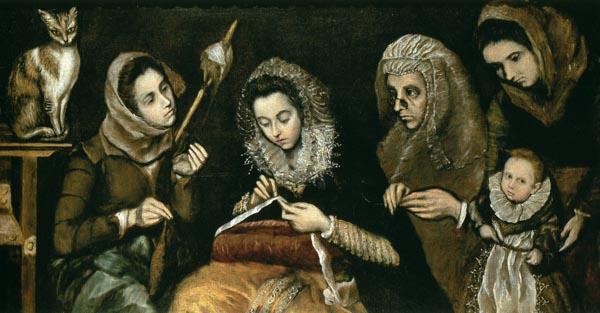 Jorge Manuel Theotocópuli: <em>La familia de El Greco</em>. Madrid, Real Academia de Bellas Artes de San Fernando.