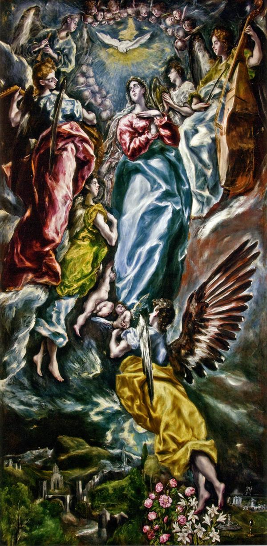 El Greco: <em>Inmaculada Ovalle</em>, 1608-1613. Toledo, Museo de Santa Cruz.