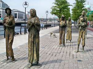 Memorial de la Gran Hambruna en Dublín