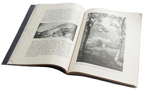 Reportaje fotográfico sobre los Picos de Europa en el Anuario publicado por el Club Alpino Español en 1929