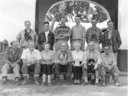 Miembros integrantes de la expedición de 1957