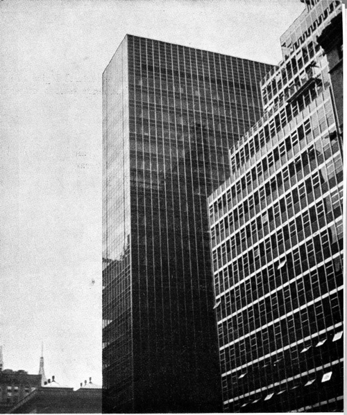 Lever House de Skidmore, Owings y Merrill