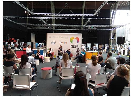 El evento Makers Town, celebrado con el apoyo de la Comisión Europea en Bruselas