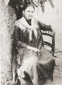 Charles Spitz, Mujer tahitiana, 1890.