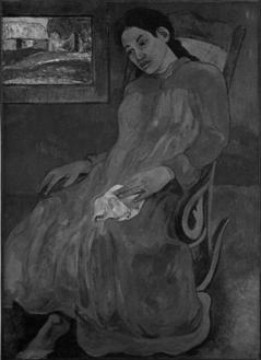 Paul Gauguin, Melancolía (Faaturuma), 1891