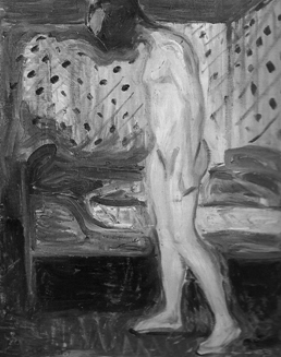 Edgard Munch, Chica desconsolada, 1907