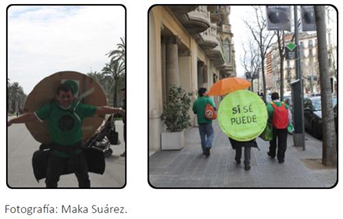 Escrache de la PAH de Barcelona (marzo 2013)