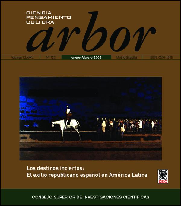 Ver Vol. 185 Núm. 735 (2009)