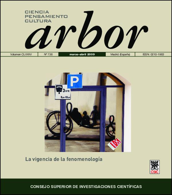 Ver Vol. 185 Núm. 736 (2009)